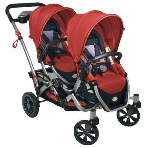 Kolcraft Contours Options Tandem Stroller, Ruby Review