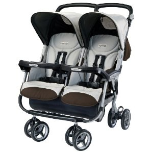 Peg Perego 2011 Aria Twin Stroller Review