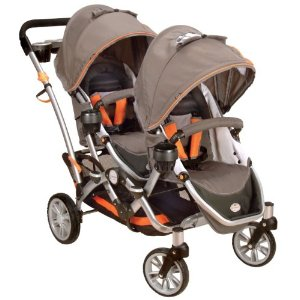 Contours Options Tandem II Stroller, Tangerine Review